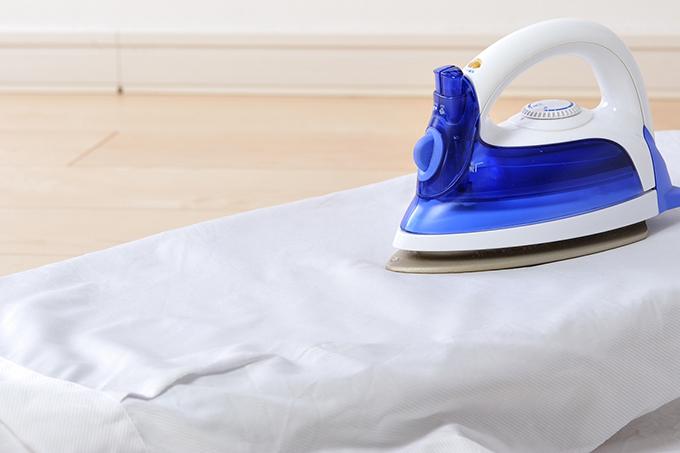 清潔感を出すための白衣のアイロンがけ