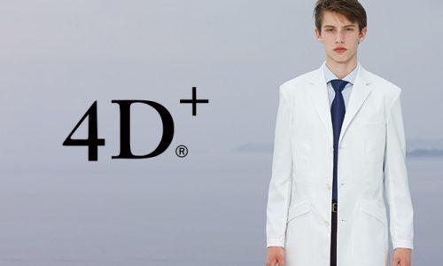 ナガイレーベン 診察衣 4D+