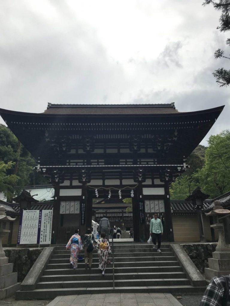 松尾大社楼門