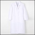 ドクタートップ女子シングル診察衣長袖